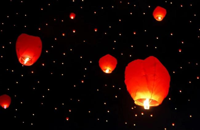 Sky lanterns pose a threat to livestock Picture: PIXABAY