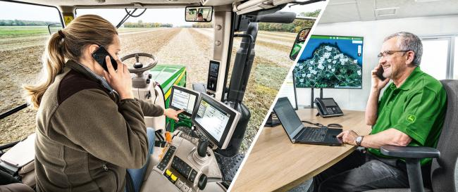 John Deere Connected Support allows remote repairs to machines
