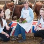 The Northern Farmer: Rosey Dunne with students Charlotte Dring and Jess Milner